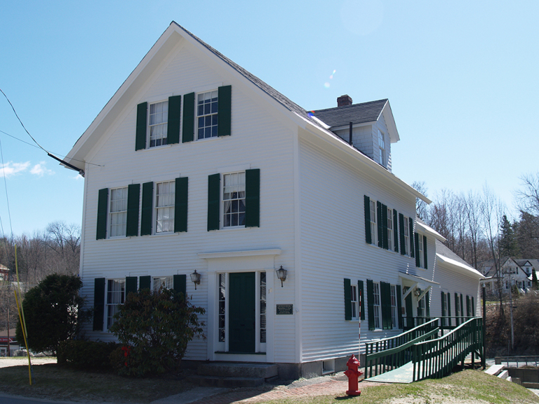 Wilton Farm and Home Museum Front